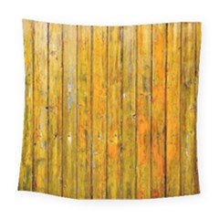Background Wood Lath Board Fence Square Tapestry (large) by Amaryn4rt