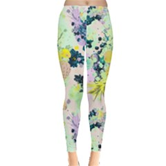 Colorful Paint Leggings  by Brittlevirginclothing