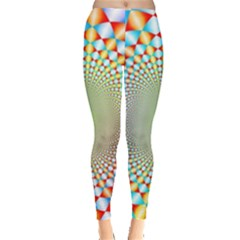 Color Abstract Background Textures Leggings  by Amaryn4rt