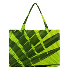 Frond Leaves Tropical Nature Plant Medium Tote Bag by Amaryn4rt
