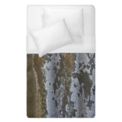 Grunge Rust Old Wall Metal Texture Duvet Cover (single Size) by Amaryn4rt