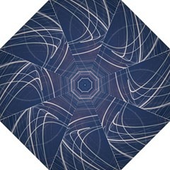 Light Movement Pattern Abstract Golf Umbrellas by Amaryn4rt