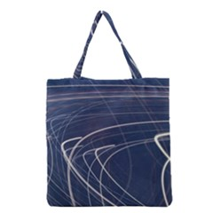 Light Movement Pattern Abstract Grocery Tote Bag by Amaryn4rt