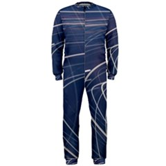 Light Movement Pattern Abstract Onepiece Jumpsuit (men)  by Amaryn4rt