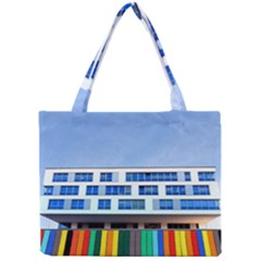 Office Building Mini Tote Bag by Amaryn4rt