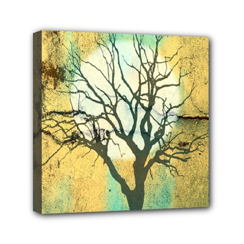 A Glowing Night Mini Canvas 6  X 6  by theunrulyartist