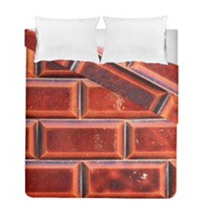 Portugal Ceramic Tiles Wall Duvet Cover Double Side (full/ Double Size)
