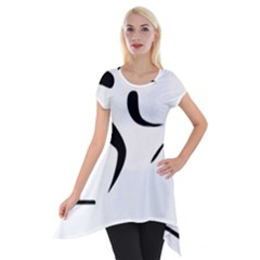Assault Course Pictogram Short Sleeve Side Drop Tunic by abbeyz71
