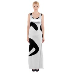 Athletics Pictogram Maxi Thigh Split Dress by abbeyz71