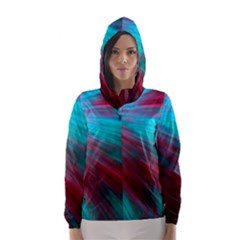 Background Texture Pattern Design Hooded Wind Breaker (women) by Amaryn4rt