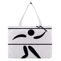Badminton Pictogram Medium Tote Bag by abbeyz71