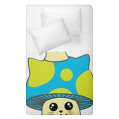 Meowshroom Duvet Cover Double Side (single Size) by Psicodelico