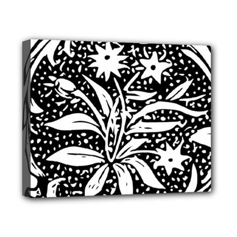 Decoration Pattern Design Flower Canvas 10  X 8  by Amaryn4rt