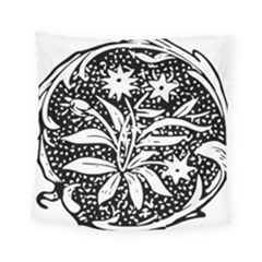 Decoration Pattern Design Flower Square Tapestry (small)