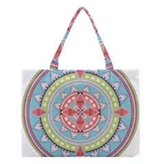 Drawing Mandala Art Medium Tote Bag by Amaryn4rt