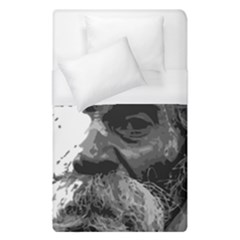 Grandfather Old Man Brush Design Duvet Cover (single Size) by Amaryn4rt
