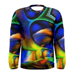 Light Texture Abstract Background Men s Long Sleeve Tee by Amaryn4rt
