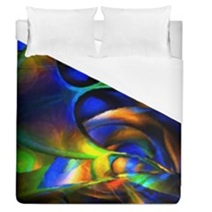 Light Texture Abstract Background Duvet Cover (queen Size) by Amaryn4rt