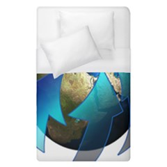 Migration Of The Peoples Escape Duvet Cover (single Size) by Amaryn4rt