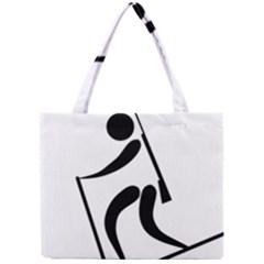 Biathlon Pictogram Mini Tote Bag by abbeyz71