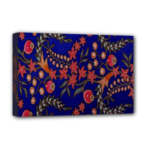 Batik Fabric Deluxe Canvas 18  X 12