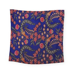 Batik Fabric Square Tapestry (small) by Jojostore