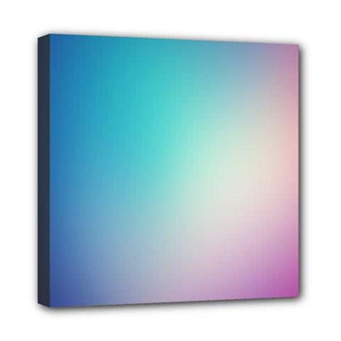 Background Blurry Template Pattern Mini Canvas 8  X 8  by Nexatart