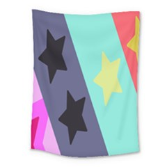 Cool Star Flag Medium Tapestry