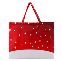 Christmas Background  Zipper Large Tote Bag by Nexatart