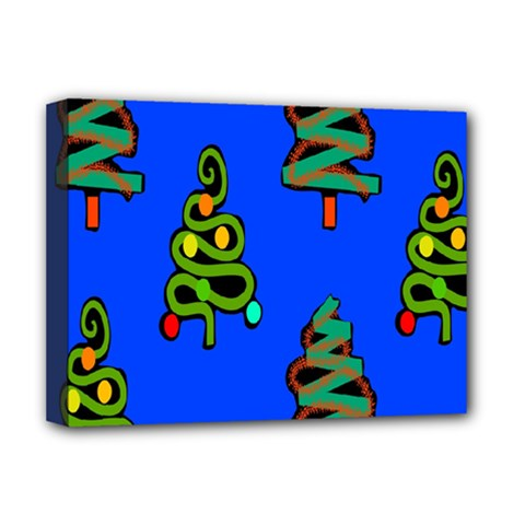 Christmas Trees Deluxe Canvas 16  X 12