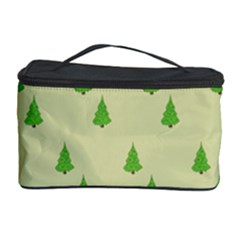 Christmas Wrapping Paper Pattern Cosmetic Storage Case by Nexatart
