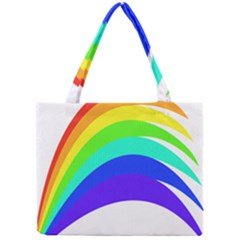 Rainbow Mini Tote Bag by Jojostore