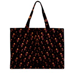 Skulls In The Dark Night Zipper Mini Tote Bag by pepitasart