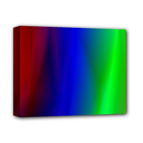 Graphics Gradient Colors Texture Deluxe Canvas 14  X 11  by Nexatart