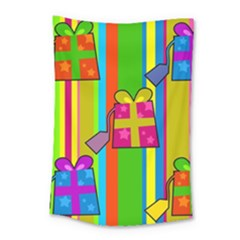 Holiday Gifts Small Tapestry by Nexatart