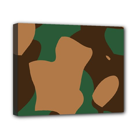 Military Camouflage Canvas 10  X 8