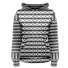 Pattern Background Texture Black Women s Pullover Hoodie