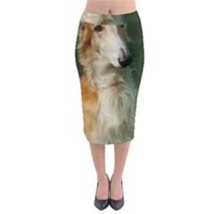 Borzoi Midi Pencil Skirt by TailWags