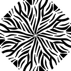 Seamless Zebra Pattern Folding Umbrellas by Nexatart