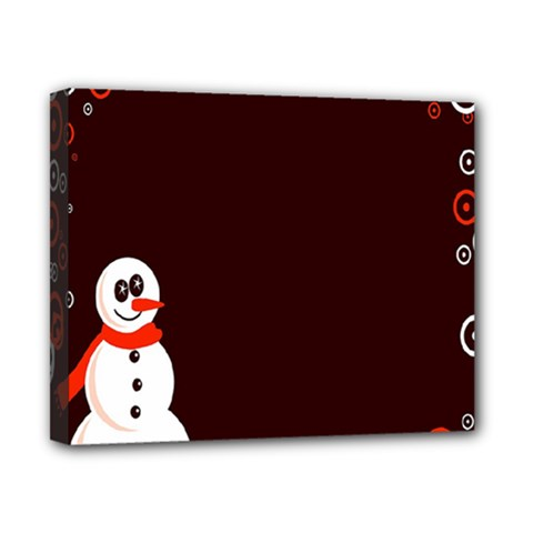 Snowman Holidays, Occasions, Christmas Canvas 10  X 8