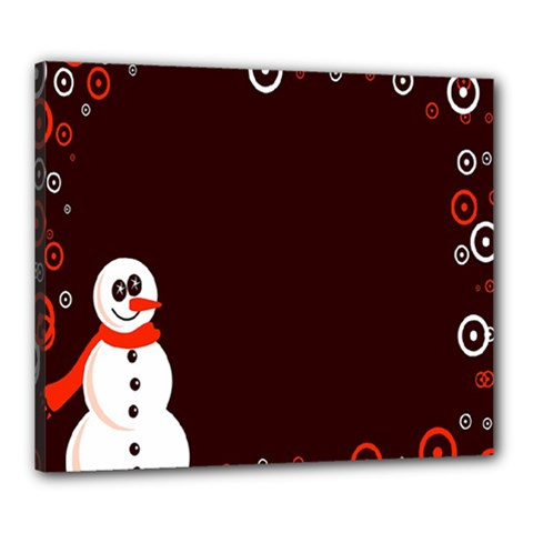 Snowman Holidays, Occasions, Christmas Canvas 24  X 20