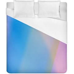 Twist Blue Pink Mauve Background Duvet Cover (california King Size) by Nexatart