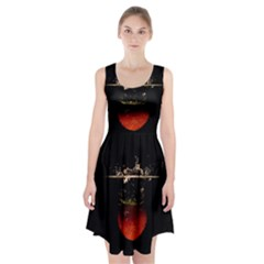 Strawberry Racerback Midi Dress by Nexatart