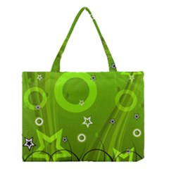 Art About Ball Abstract Colorful Medium Tote Bag by Nexatart