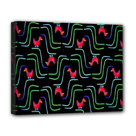 Computer Graphics Webmaster Novelty Pattern Deluxe Canvas 20  X 16