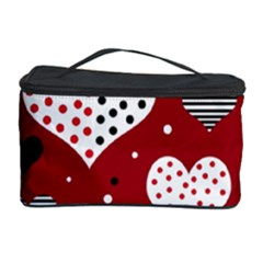 Harts Cosmetic Storage Case by Valentinaart