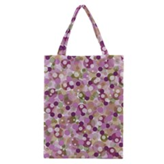 Colorful Bubbles Classic Tote Bag by Valentinaart