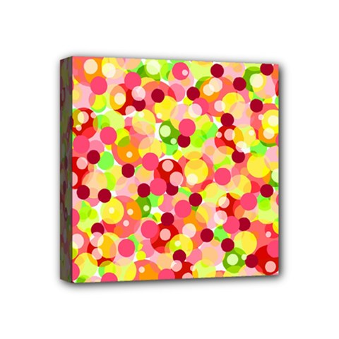 Playful Bubbles Mini Canvas 4  X 4  by Valentinaart