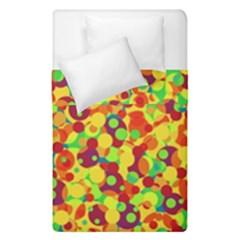 Bubbles Pattern Duvet Cover Double Side (single Size) by Valentinaart