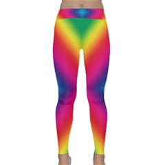 Hippie  Classic Yoga Leggings by Valentinaart